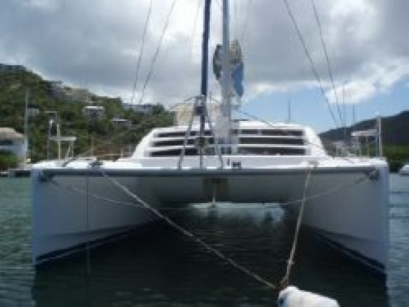 Used Sail Catamaran for Sale 2007 Leopard 46